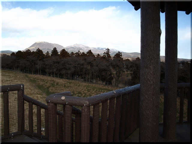 北方:赤城山