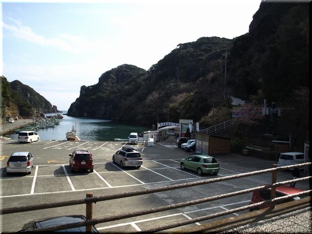 漁港&駐車場