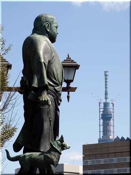 東京スカイツリー(11/03/04 撮影)