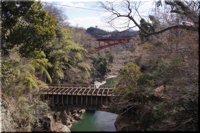 橋上からの眺め