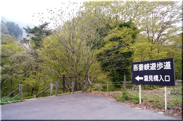 滝見橋入口