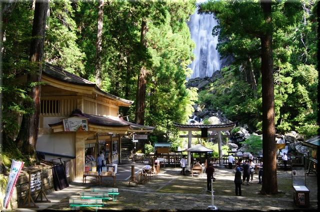 飛瀧神社境内