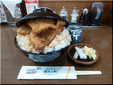 特製カツ丼(大盛り)
