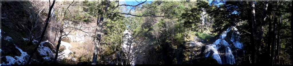 これでこそ三本滝
