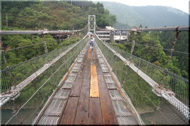 橋上から見た上野地