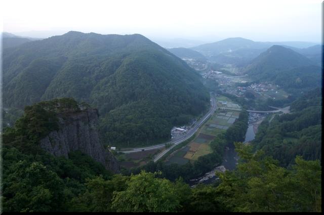 男神岩&馬淵川