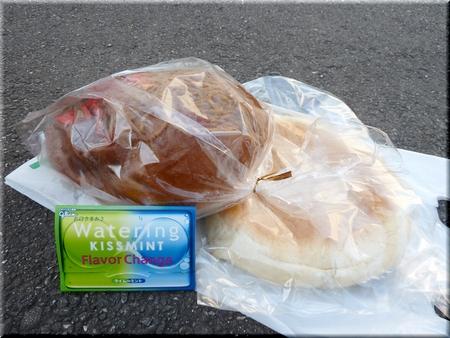 びっくり焼きそばパン+びっくりあんパン