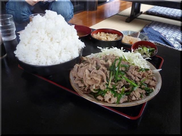 スタミナ定食(大盛り)