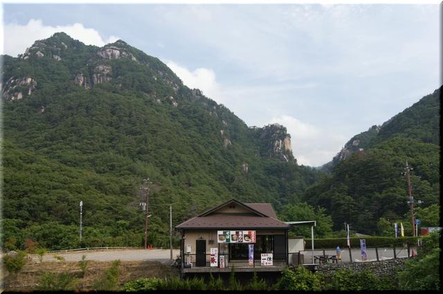 上流の景色