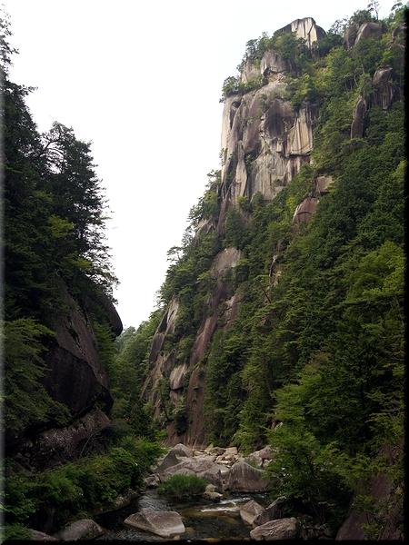 昇仙橋から景色