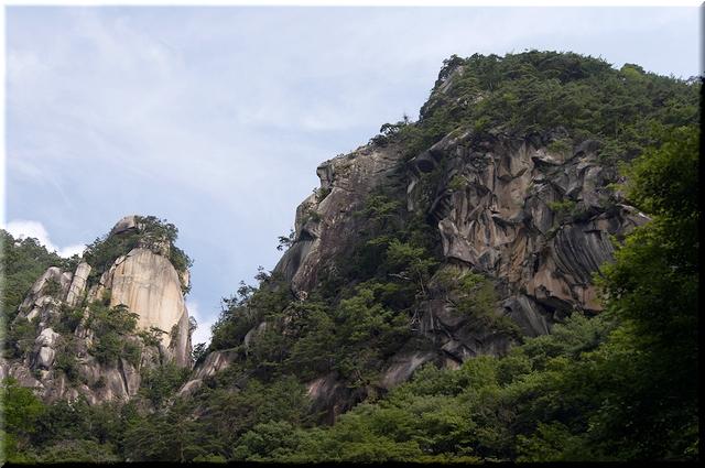 覚円峰&天狗岩