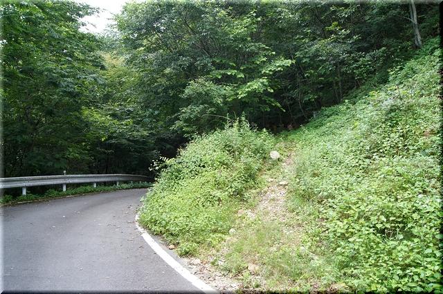 御座石-北精進ヶ滝林道終始点