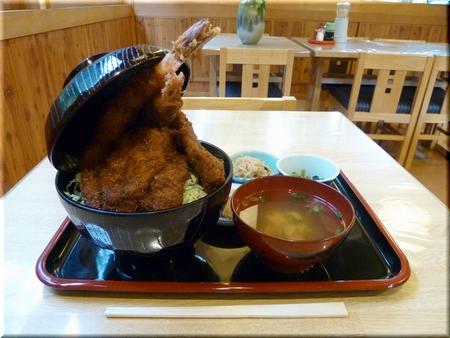 ミックス丼(大盛り)