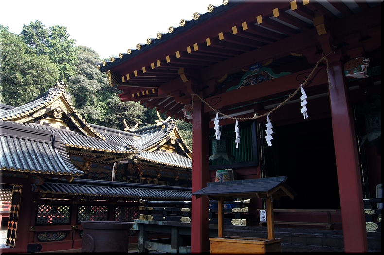 本殿(国宝)&日枝神社橋