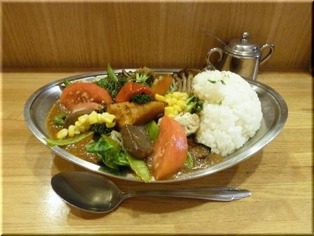 インド風カレー(野菜ダブル・5辛)