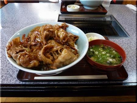 肉丼(大盛り)