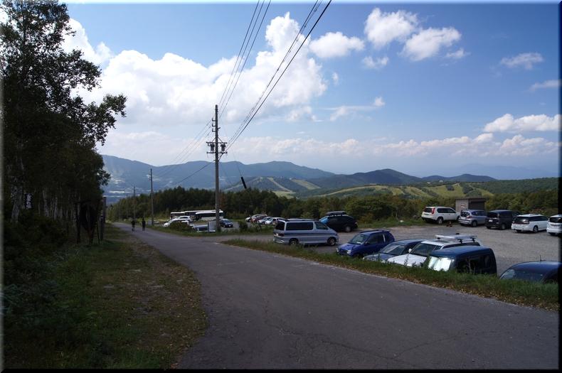 菅平牧場駐車場
