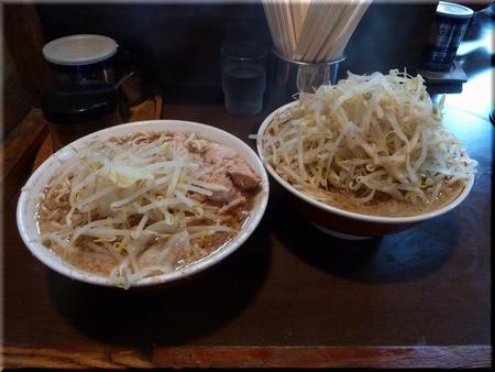 ラーメン大(豚入・野菜マシ)