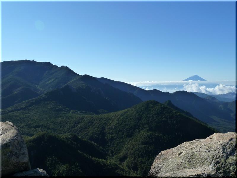 金峰山・富士山