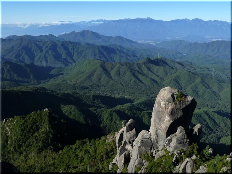 大やすり岩・南アルプス