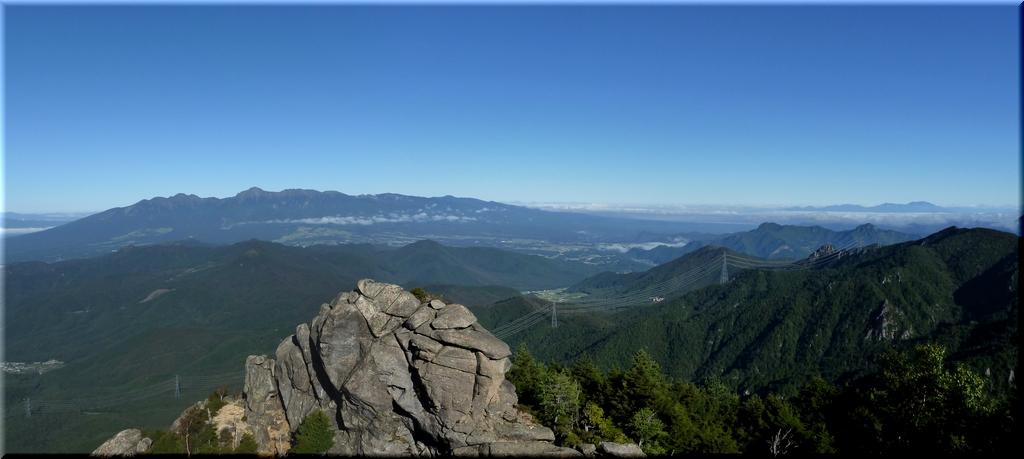 八ヶ岳・北アルプス・浅間山