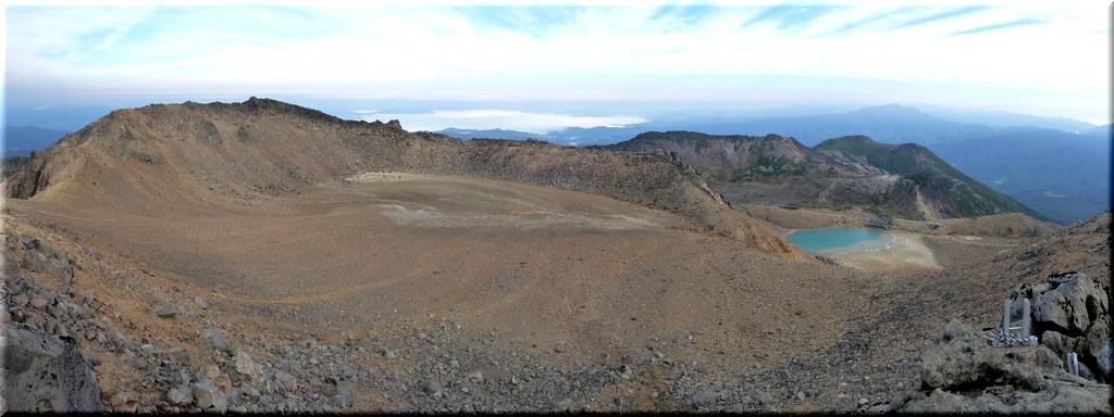 御嶽山火口