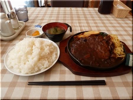 メガハンバーグ定食(大盛り)