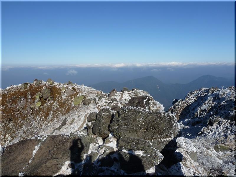 武尊山や至仏山、燧ケ岳は見えず