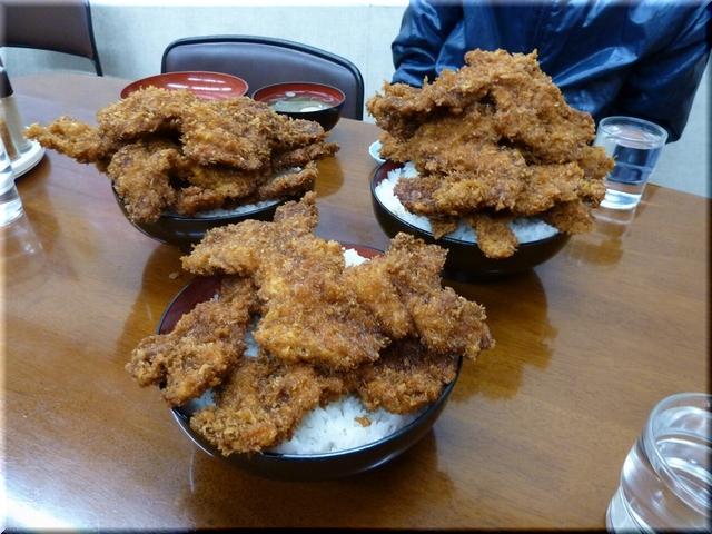 ソースカツ丼(五&七枚丼・大盛り)