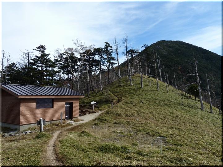 笹平避難小屋