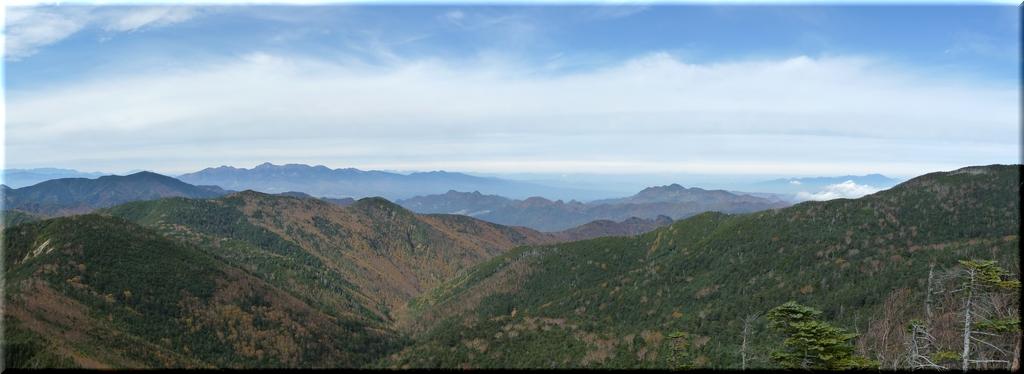 御嶽山・八ヶ岳・北アルプス・浅間山