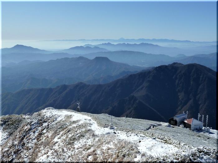 榛名山・秩父山塊・富士山