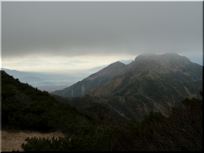 権現岳・富士山