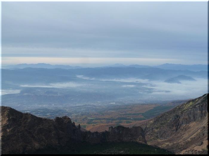 中央アルプス・御嶽山