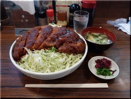 ソースカツ丼(チキン・大盛り)