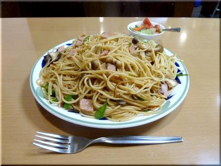 木の子スパゲティー(大盛り)