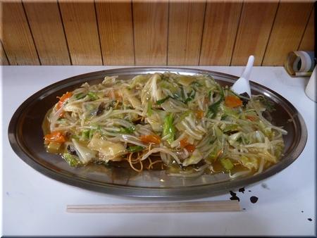 たんたん焼きそば(揚げ麺・大盛り)