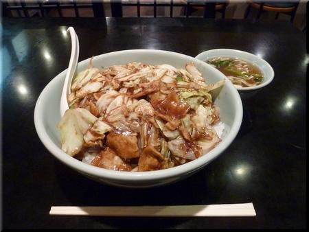 キャベツの味噌掛飯(メガ盛り)