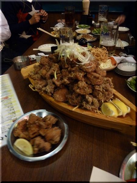 若鶏の唐揚げ(普通&大バカ)