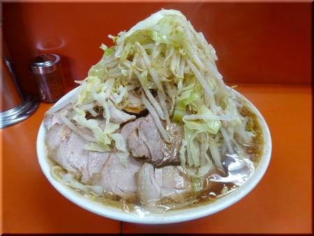 大豚ダブル(麺ちょい増し・野菜マシマシ)