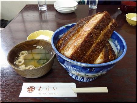 ロースかつ丼(ソース)