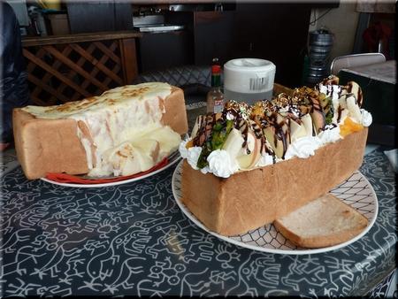 Bigハニートースト+イタリアントマト(大盛り)