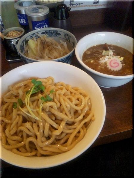 強麺つけ+野菜