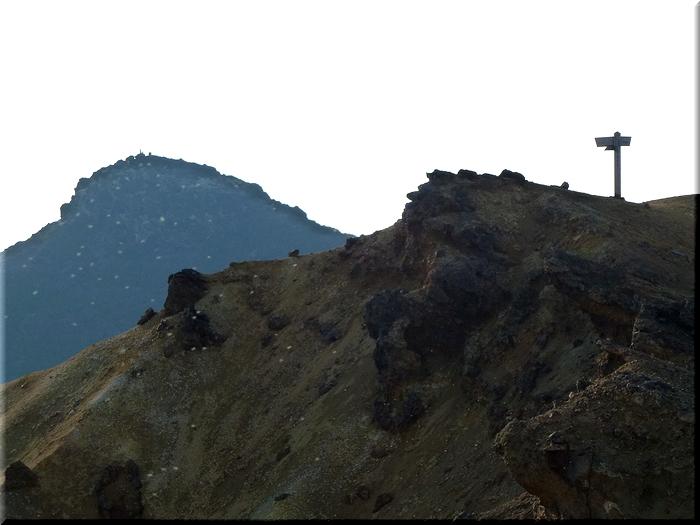 石筵登山口分岐