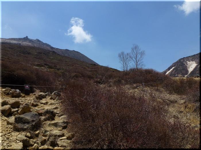左が茶臼岳