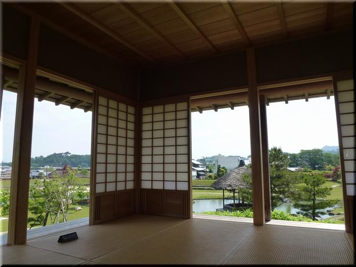 梅の茶屋からの眺め