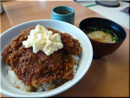 タルタルカツ丼(ヒレ)