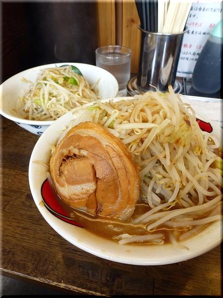 雷そば(特・野菜マシ)