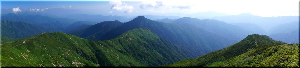 鳥海山&月山&蔵王山