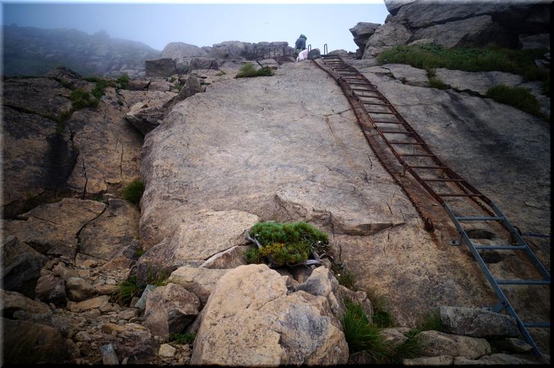 天狗の滑り岩